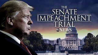 Watch LIVE: Impeachment Trial of President Donald Trump day six - ABC News Live Coverage