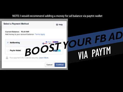 How to Boost Facebook Page Ad without Credit Card