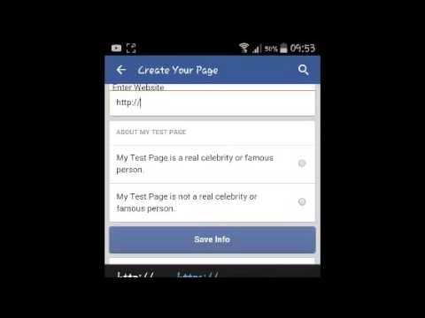 How To Create Facebook Page On Android