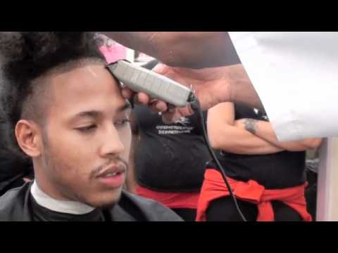 Clippers; Edge up, line up demo for hairline, beard, mustache