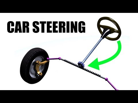 How Car Steering Works - Rack & Pinion