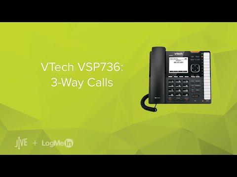 VTech VSP736: 3-Way Calls