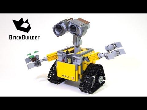 Lego Ideas 21303 WALL•E - Lego Speed Build