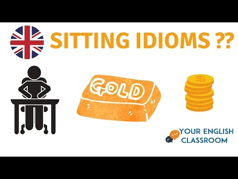 Learn Sitting Idioms ?? - English Vocabulary