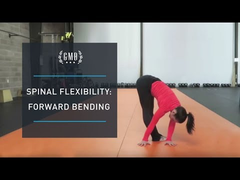 Spinal Flexibility Routine - Forward Bending