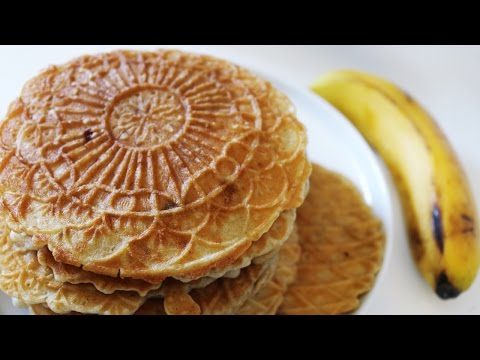 How To Make Vegan Pizzelle