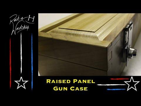Raised Panel Gun Case