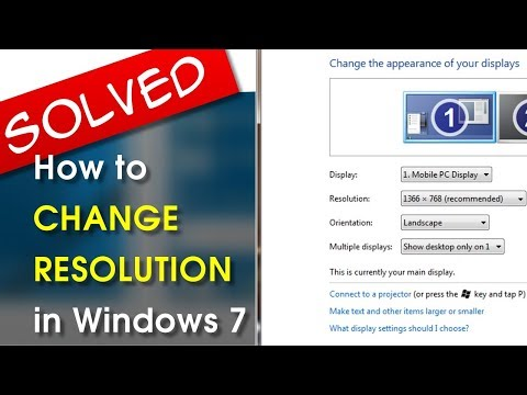 [SOLVED] Windows 7 Change Resolution | A How-To Tutorial Series