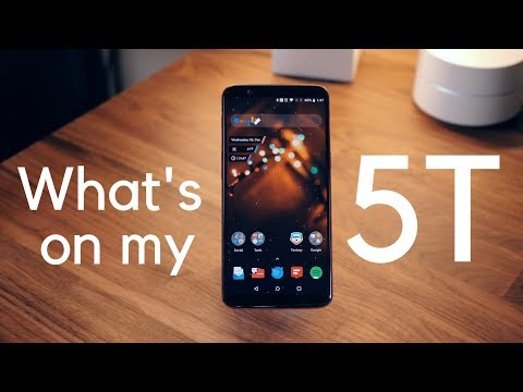 What's On My Android Phone feat. OnePlus 5T!