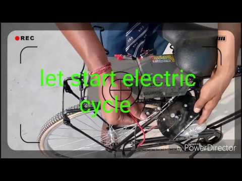 How to Make  low budget electric Bike