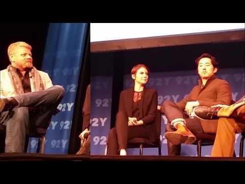 Glenn, Abraham, & Maggie - 92Y NYC Panel - The Walking Dead