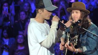 """Justin Bieber & Dan Kanter """"Love Yourself"""" An Evening With JB Chicago"""