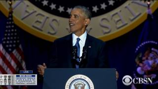 WATCH LIVE: President Obama delivers his farewell address