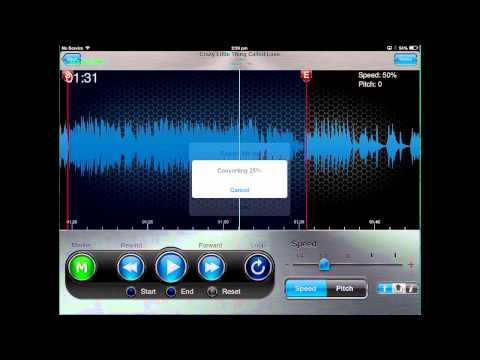 Riffmaster Pro   exporting audio on ipad and iphone