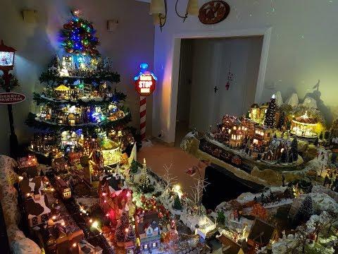 BijoBear's Lemax Christmas Tree Village 2017