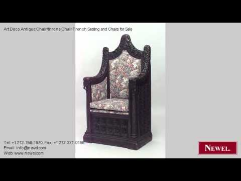 Art Deco Antique Chair/throne Chair French Seating and