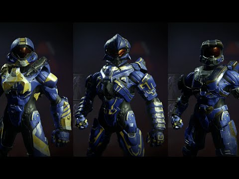 Halo 5: Guardians - All Mythic Armor