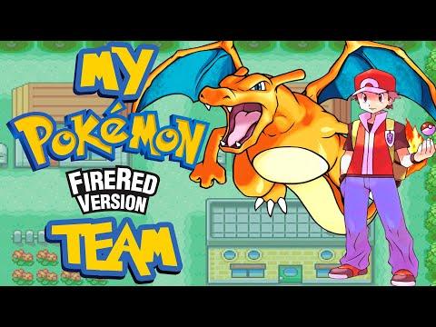 My Pokemon Fire Red team!