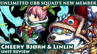 Cheery Bjørn & Linlin Unit Review - Creation God Trial Vs Unlimited Ubb (brave Frontier Global)