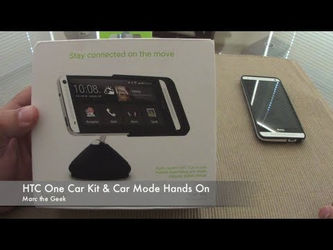HTC One Car Kit & Car Mode Hands On