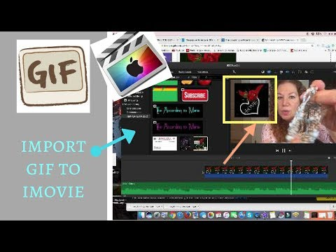 Mystery Solved! How to Import an Animated GIF into Apple iMovie | Looping a GIF in iMOVIE
