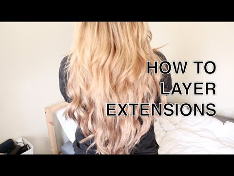HOW TO | Cut & Layer Hair Extensions