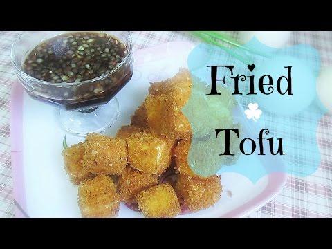 Fried Tofu (Pritong Tokwa)