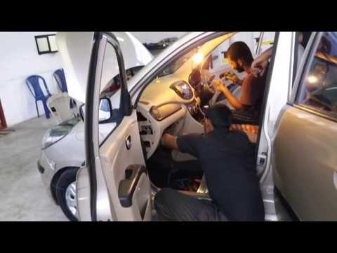 Hyundai i10ac repairing