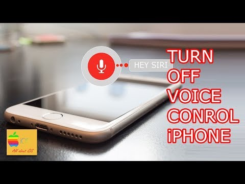 How to turn off voice control in iPhone