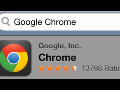 How To Download Google Chrome Ipod/Ipad/Iphone