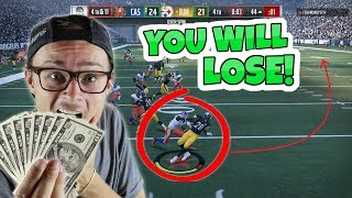 I BET YOU $100 THAT YOU WILL NEVER SEE A CRAZIER COMEBACK THAN THIS!! Madden 18 RTE ep.5
