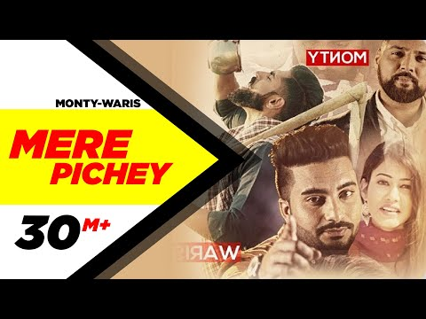 Mere Piche (Full Video) | Monty & Waris | Latest Punjabi Song 2016 | Speed Records