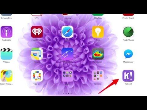 Add Kahoot to iPad
