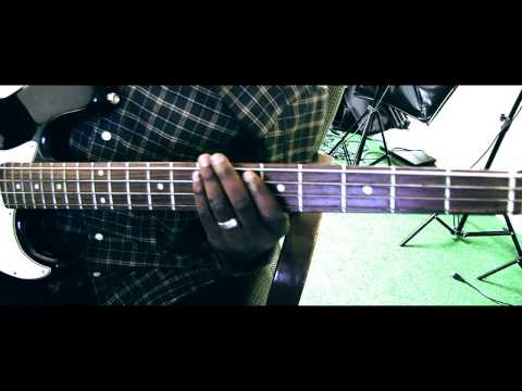 Arabaribiti by Sonnie Badu   Bass Guitar tutorial David Oke (AGS)