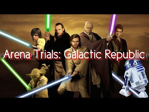 Powerful WOW !!! Arena Trials: Galactic Republic / JEDI Star Wars Galaxy of Heroes
