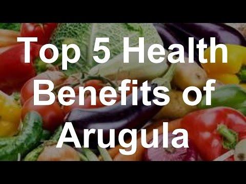 Top 5 Health Benefits of Arugula