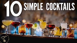 Download 10 Simple Cocktails! Video