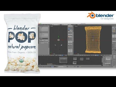 Blender for Packaging – Potato Chip Style Bag