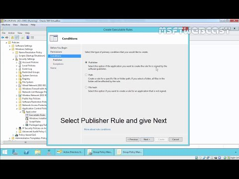 How to Configure Applocker in Windows Server 2012 R2