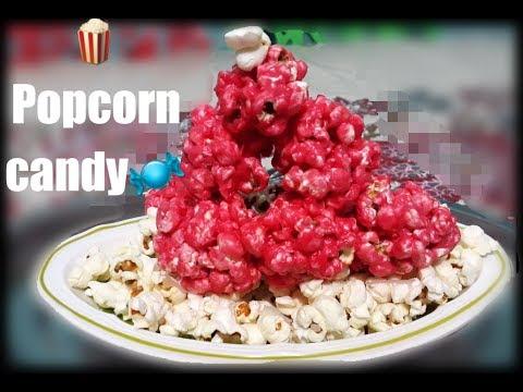 DIY Cotton Candy Popcorn