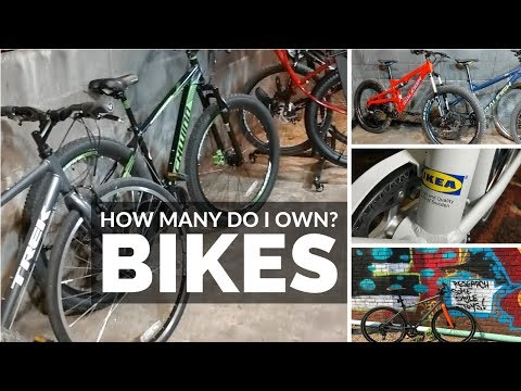 How many bikes do I own? All my current bicycles