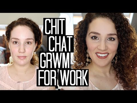 Chit-Chat Get Ready With Me for Work! House Update, Moving, Work & More