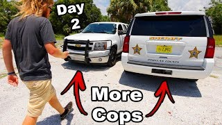 SOMEONE STOLE OUR FENCE!! (On The News) New Florida Law Day 2| JOOGSQUAD PPJT