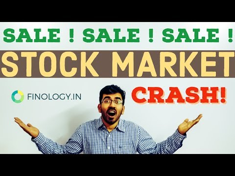 What to do in a stock market Crash ? BIG Stock Market Sale ! Stock market Crash 2018 india [Hindi]