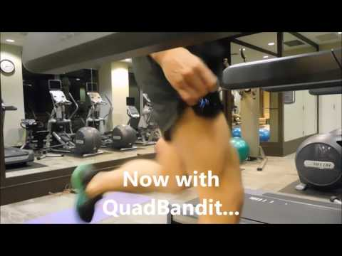 QuadBandit will stop your phone from boucing in your pocket while you run.
