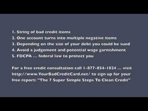 Debt Collection - What Happens If You Don't Pay
