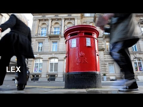 Royal Mail's share drop