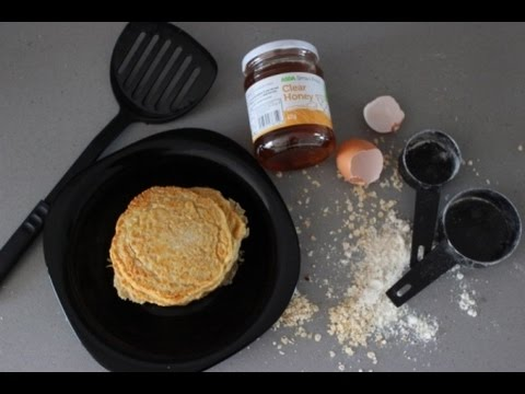 My Oats Pancakes (from scratch)