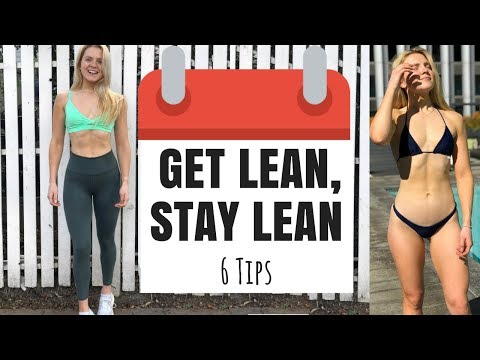 How To Lose Fat and Stay Lean WITHOUT DIETING | 6 Easy Tips To GET LEAN and STAY LEAN All Year Round