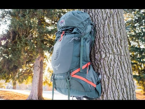 Osprey Atmos 65 AG EX Pack - Hands on Review
